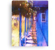 Grapevine Walk Canvas Print