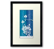 Enchantment Series - Blue Framed Print