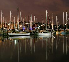 Boats at rest by zook