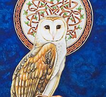Celtic Barn Owl by Beth Clark-McDonal