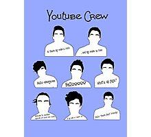 Youtube Crew Photographic Print