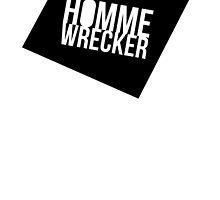 HommeWrecker Tee (Soft Butch Version) by Mildred George