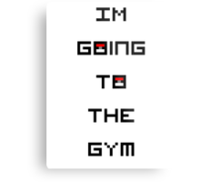 I'm Going to the Gym (Pokemon) Metal Print