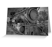 Steam Power! Greeting Card