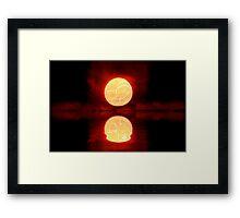 Cosmic Sunset Framed Print