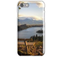 Inviting Bench iPhone Case/Skin