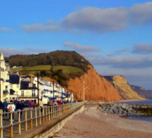 Sidmouth Sea Front Sticker