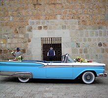 Wedding Car, Oaxaca, Mexico by Cryingbull