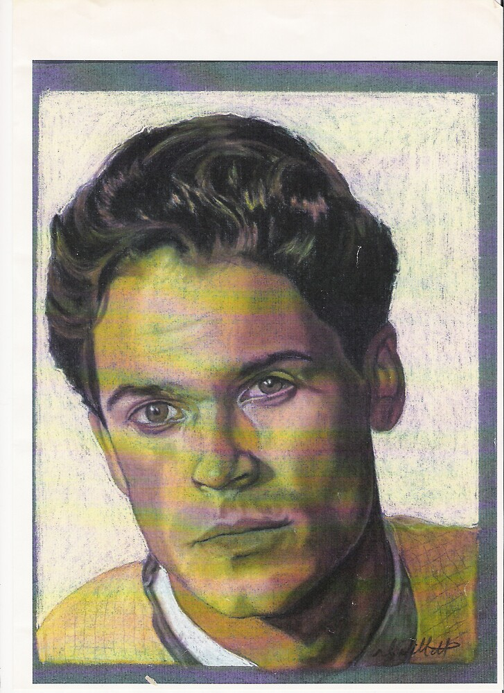 rob lowe  (pastels) by willboy