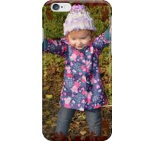 Autumn Leaves and Mucky Puddles! iPhone Case/Skin