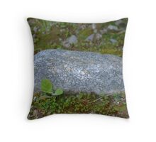 alien rock Throw Pillow