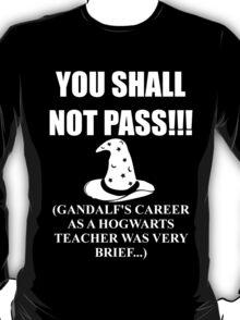 Gandalf at Hogwarts T-Shirt