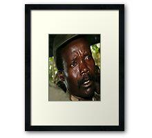 Kony Framed Print