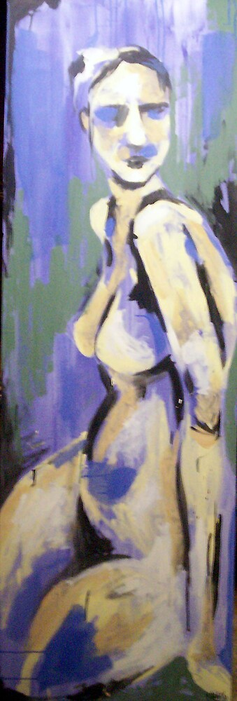 Blue Lady by Katie Young