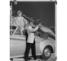 THEY WERE THERE FIRST (BW) iPad Case/Skin