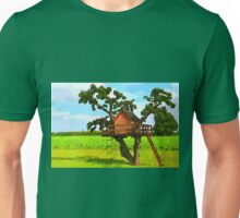 Beautiful creative tree house Unisex T-Shirt