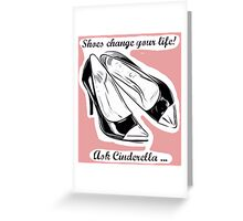 Ask Cinderella Greeting Card
