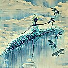 DANCER AND DRAGONFLIES 10 by Tammera