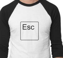 Escape Key Men's Baseball ¾ T-Shirt