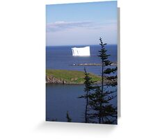 '' Iceberg Country '' Greeting Card
