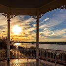 Mississippi River Gazebo by Jonicool