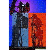 digital world multi-colored Photographic Print