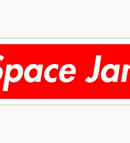 Space Jam Supreme (Sticker and Clothing) Sticker