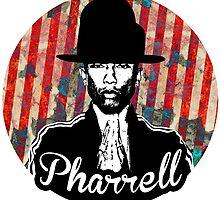 Pharrell Williams Stencil by emalakaite