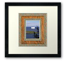Ice.....land Framed Print