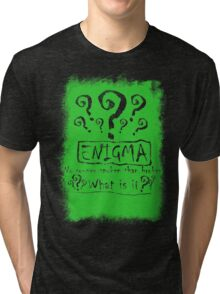 the quest of the riddler Tri-blend T-Shirt