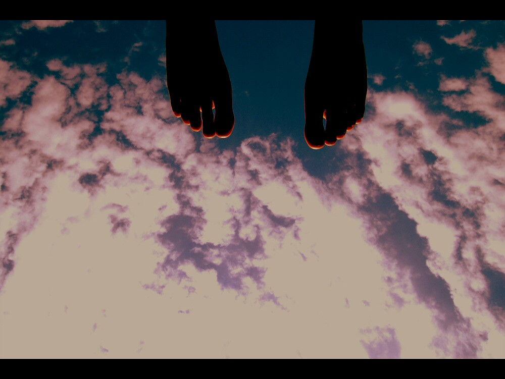 FEET IN THE SKY by DA NAM