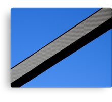 Sky Bisected Canvas Print