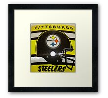 GO STEELERS! Framed Print