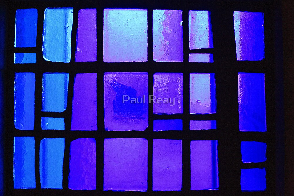 Stained Glass  by Paul Reay