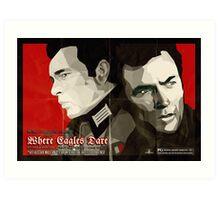 Where Eagles Dare (Alternative poster) Art Print