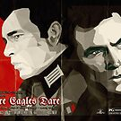 Where Eagles Dare (Alternative poster) by SixPixeldesign