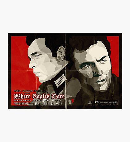 Where Eagles Dare (Alternative poster) Photographic Print