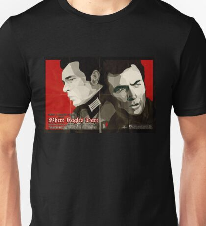 Where Eagles Dare (Alternative poster) Unisex T-Shirt