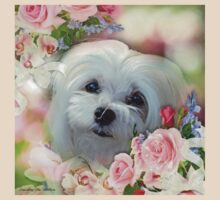 Snowdrop the Maltese - The Face that Melts my Heart T-Shirt