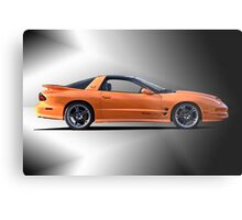 2002 Pontiac Trans Am 1 Metal Print
