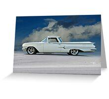 1960 Chevrolet El Camino Greeting Card