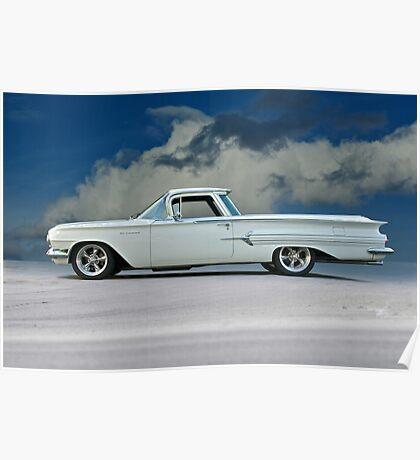 1960 Chevrolet El Camino Poster