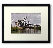 Counter Weight Framed Print