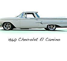 1960 Chevrolet El Camino 'Studio' by DaveKoontz