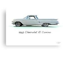 1960 Chevrolet El Camino 'Studio' Metal Print