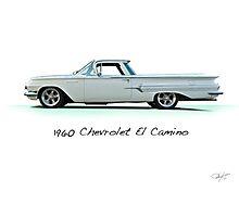 1960 Chevrolet El Camino 'Studio' Photographic Print