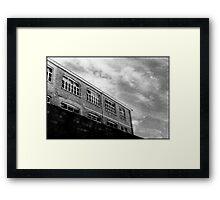 Old Pottery Building Framed Print