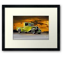 1933 Chevrolet Pickup Truck Framed Print
