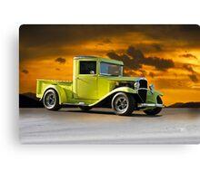 1933 Chevrolet Pickup Truck Canvas Print