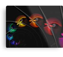 Into the Blackhole With You Metal Print